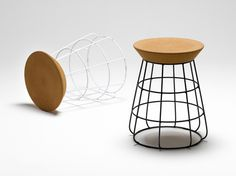 Sidekick Stool #interior #creative #inspiration #amazing #modern #design #ideas #furniture #architecture #art #decoration #cool
