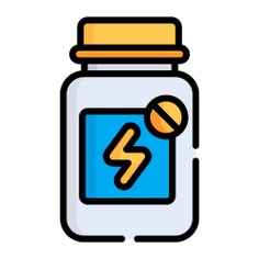 See more icon inspiration related to vitamin, supplement, pills bottle, healthcare and medical, vitamins, pills, medication, pharmacy, pill, bottle and medicine on Flaticon.