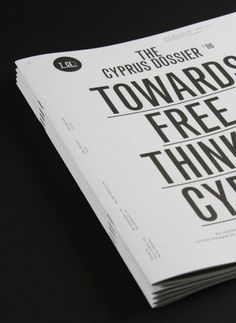 TWO – Think Work Observe | AisleOne #book #typography