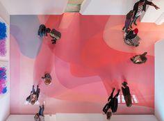 Peter Zimmermann im Museum für Neue Kunst flood pool installation