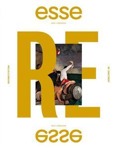 Esse (Montréal, QC, Canada) #cover #magazine