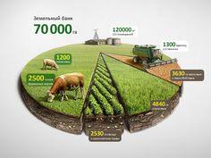 Infographic Agro Chart Illustration (data visualization)