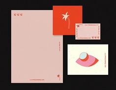 Letterpress cards on Behance