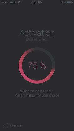 Activation_ui #flat #interface #ui