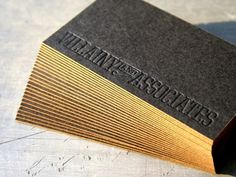 20 Brilliant Edge Painted Business Cards #identity #business card