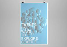 Explore Seattle — Nu206 #print #poster