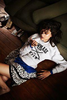 Lorena Okhuysen by Santiago Ruisenor for Elle Mexico