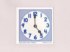 Teaching Clock (1970s)