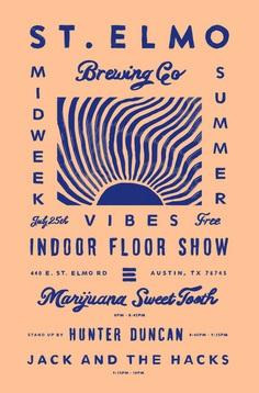 Floor Show Night II by Keith Davis Young