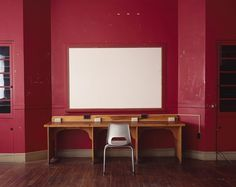meggan gould | photographs #chair #school #board #black #photography #desk