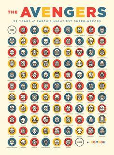 avengers_poster_web #print #icons #avengers #poster #comics