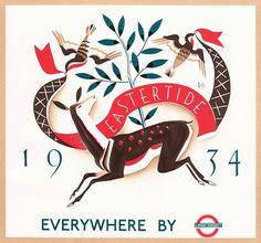 FFFFOUND! | eastertide.gif 800×748 pixels #illustration #vintage #easter