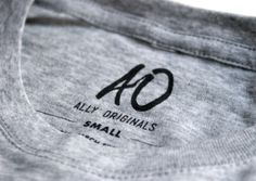 Ally Originals You With Rhinestones #clothing #branding #identity #logo #wordmark