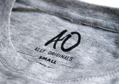 Ally Originals You With Rhinestones #clothing #branding #identity #logo #wordmark