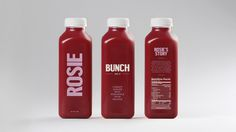 Bunch — DIA — Strategy | Branding | Design | Motion #packaging #bottle #juice