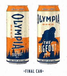 Olympia Beer Can #beer #packaging