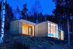 Cabin Norderhov by Atelier Oslo #interior #design #architecture