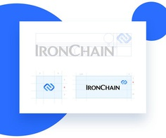 IronChain Brand Identity #logo #graphic #design