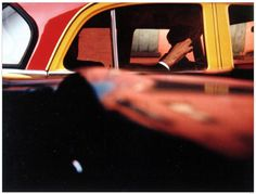 saul leiter.png (1144×870) #printed #1957 #print #saul #leiter #later #chromogenic #taxi