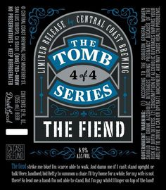 Central Coast The Fiend #packaging #beer