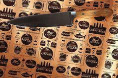 Branding and Package Design #brier #cutlery #branding #co-op #design #icons #food #rebranding #vintage #logo #david #typography
