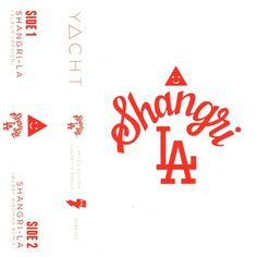 DFA Records — YACHT - Shangri-La Cassingle + Smiangle Sticker! #yacht