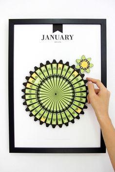 Pattern Matters #design #calendar #pattern #craft #hand #made