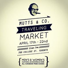 Instagram #toronto #muttonhead #collateral #market