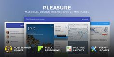 Material Design Admin Templates