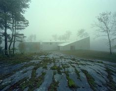 putney_mountain_house_kswa #sung #kyu #architects #mist #photography #architecture #woo