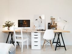 Two seat workspace