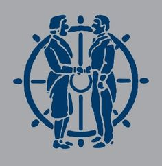 Draplin Design Co. #illustration #draplin #gray #colonial #blue
