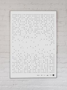 Simon Bertrand #print #uqam #poster
