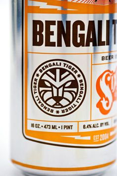 Sixpoint Brewery - TheDieline.com - Package Design Blog #packaging #beer #can