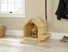 Simple designed 3dog house with convenient #gadgets. #design #product #lifestyle