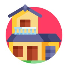 See more icon inspiration related to villa, architecture and city, bulding, real estate, architecture, property, garage, house, home and apartment on Flaticon.