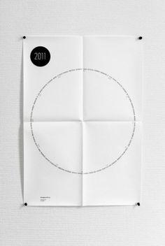 Posters | Sgustok Design #calendar #poster