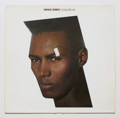 Grace Jones album cover collage