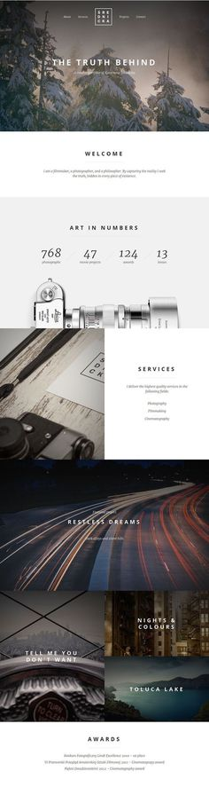 Art in numbers #website #leica #web typography