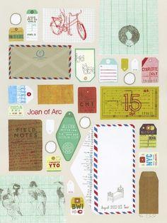Joan of Arc (2011 Tour) - Landland #serigraphy