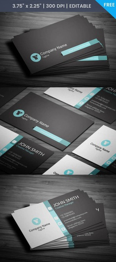 Free Minimal Coo Business Card Template
