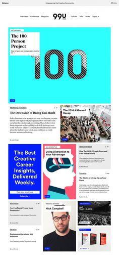 99u.com website desigblog modern simple talk online magazine 99u www.mindsparklemag.com mindsparkle mag