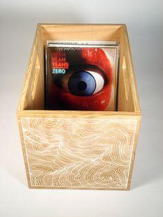 record crate - Matt Terrell #vinyl #records #music #storage