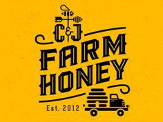 bee, honey, beehive, truck, farm, mike, bruner, label