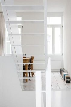 convoy #interior #white #architecture #vintage #modernist
