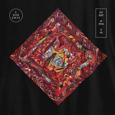 Chvrches - Every Open Eye artwork by Quentin Deronzier  #albumart #artwork #coverart #chvrches #album #music #geometrical #square