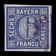 stamp #stamp #six #bavaria