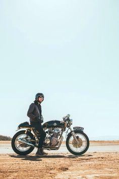 (9) Likes | Tumblr #man #helmet #motocycle #sky