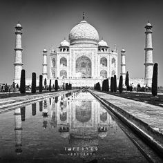 The Taj #gallery #heritage #front #monument #infected #india #of #the #photography #architecture #taj #mahal
