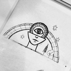 Francisco J Hernandez / Portfolio #eye #prana #yoga #illustration